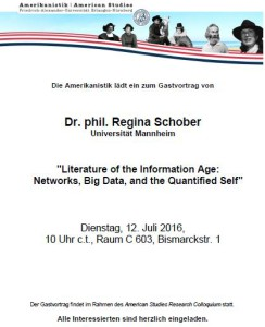 Guest Lecture Schober